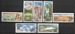 KIRGHIZSTAN     -   1995  .   Y&T N° 58 + 60 à 65 Oblitérés.  Parcs Nationaux Du Monde. - Kirghizistan