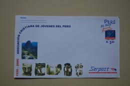 Pérou Entier Postal Entero Stationary Machu Picchu  Peru - Archaeology