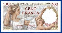 100 Francs Sully / 29-01-1942 / SPL - 1871-1952 Antichi Franchi Circolanti Nel XX Secolo