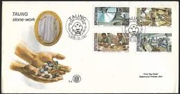 1978 - BOPHUTHATSWANA - FDC - SG 29/32 + TAUNG - Bophuthatswana