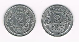 =&  FRANKRIJK 2 FRANCS 1958/59 - France