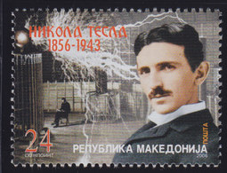 Macedonia 2006 Nikola Tesla, MNH (**) Michel 394 - Mazedonien