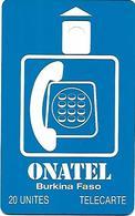 @+ Burfina Faso - ONATEL 20U - Sans Puce Ni Numero De Serie - Burkina Faso