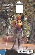 @+ Burfina Faso - Kadiogo 50U - Sans Puce Ni Numero De Serie - Burkina Faso