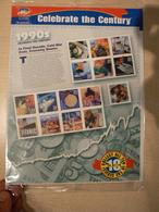 Etats-Unis - 2000 - N° 3067 à 3081 - Neufs ** - Feuille Sous Blister D'origine - Célébration Années 1990's - Vereinigte Staaten