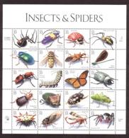Etats-Unis - 1999 - N° 2963 à 2982 - Neufs ** - Insectes Et Araignées - Etats-Unis