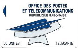 @+ Gabon - OPT 50U - Sans Puce Ni Numero De Serie - Gabon
