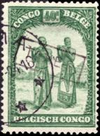 Congo TX 0172 (o) Surcharge Taxe - Belgisch-Kongo