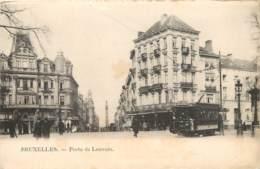BELGIQUE BRUXELLES PORTE DE LOUVAIN LE TRAMWAY - Corsi