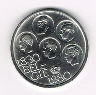BOUDEWIJN  500 FRANK  150 JAAR  ONAFHANKELIJKHEID  1980 VL - 1951-1993: Baudouin I