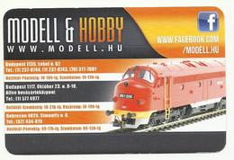 """Hungary, Diesel Engine """"Nohab"""", Model & Hobby Ad,2017 - Small : 2001-..."""