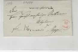 Vorphilabrief Aus OSNABRÜCK 1817 Nach Meppen - Deutschland