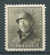 België OBP Nr: 170 Postfris / MNH / ** - 1919-1920  Cascos De Trinchera