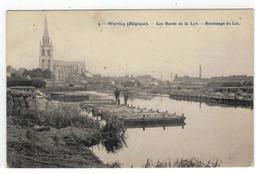 9. - Wervicq (Belgique). - Les Bords De La Lys. - Ruissage Du Lin 1912 - Wervik