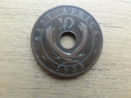 East Africa  10  Cents  1922  Km 19 - British Colony