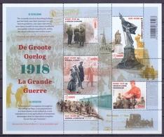 Belgie - 2018 - OBP -  ** De Grote Oorlog - La Grande Guerre ** MNH - Europe 1 - Belgique