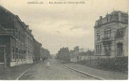 COURCELLES : Rue Avenue De L'Hotel De Ville - Courcelles