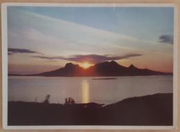 Norway - Norge - The Midnight Sub At Landego - Midnaattsol Over Landego  Vg 1958n - Norvegia