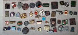 Croatia Bosnia Yugoslavia Slovenia 50 Different Pins  LOT 2 - Badges