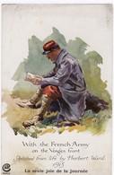 With The French Army On The Vosges Front 1915 La Seule Joie De La Journée - Guerre 1914-18