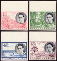 Ruanda 0196/99** ND Voyage Royal Non Dentelé Bord De Feuille - MNH- - 1948-61: Neufs