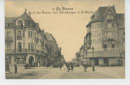 BELGIQUE - DE PANNE - LA PANNE - Arrêt Des Tramways Vers Adinkerque Et St Idesbald - De Panne
