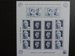 Bloc Feuillet N° 4986 - 69 éme Salon Philatélique D'automne - 2018-... Marianne L'Engagée
