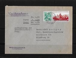 HEIMAT ZÜRICH → 1943 Nachnahme-Brief Gemeinderatskanzlei Kilchberg - Schweiz