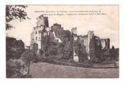 33 Rauzan Le Chateau Vue D' Ensemble Prise De La Tour De Saint Jean De Blagnac - France