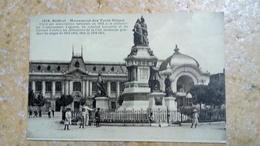 CPA. Animé - MONUMENTS AUX MORTS - BELFORT - MONUMENTS DES TROIS SIEGES  - 1813-1814/1815/1870-1871 - Monuments Aux Morts