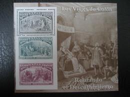Spanien/Spain- Los Viajes De Colon, Relatando El Descubrimiento** - Blocks & Kleinbögen