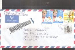 Lettre Recommandée De Limassol Vers La Belgique - 2007 - (à Voir) - Chypre (République)