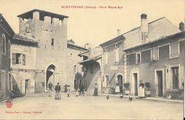 Montvendre (Drôme) - Porte Moyen-Age - Edition Vve Chapon - France