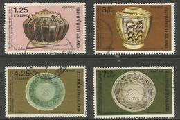 Thailand - 1982 Bangkok Pottery Used    Sc 1004-7 - Thailand