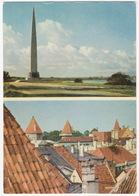 Tallinn - The Obelisk & The Roofs Of Old Tallinn - (Estland) - Estland