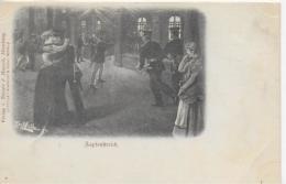 AK 0088  Deutsche Reichspost - Zapfenstreich ( Militaria ) / Künstlerkarte Sign. V. Karl Müller Um 1912 - Manöver