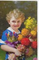 AK 0088  Blumenmäderl - Künstlerkarte Um 1938 - Abbildungen
