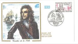 FDC Navigateur Cavelier De La Salle (Paris18 Dec 1982) - 1980-1989