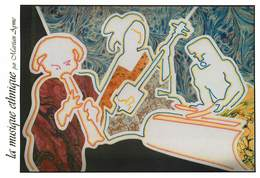 Illustrateurs - Illustrateur Martian Ayme - Enghien Les Bains - Musique Et Chant - La Musique Ethnique - Illustrators & Photographers