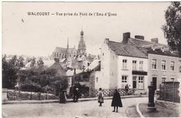 WALCOURT VUE FELDPOST GUERRE 14 18 MARQUE MILITAIRE - Walcourt