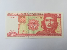 CUBA 3 PESOS 2004 - Cuba