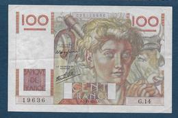 France - 100 F  Jeune Paysan  Du  7 - 11 - 1945 - 1871-1952 Frühe Francs Des 20. Jh.