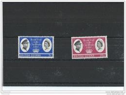 GUYANE 1966 - YT N° 223/224 NEUF SANS CHARNIERE ** (MNH) GOMME D'ORIGINE LUXE - Guyane (1966-...)