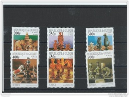 GUINEE 1997 - YT N° 1134AK/1134AQ NEUF SANS CHARNIERE ** (MNH) GOMME D'ORIGINE LUXE - Guinée (1958-...)
