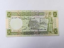 SIRIA 5 POUNDS 1988 - Syrie