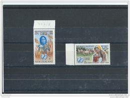 NOUVELLE ZELANDE 1969 - YT N° 497/498 NEUF SANS CHARNIERE ** (MNH) GOMME D'ORIGINE LUXE - Ongebruikt