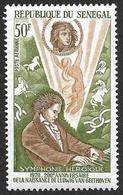 SENEGAL  1970  -  PA 94  - Beethoven: Symphonie Héroïque    - NEUF** - Sénégal (1960-...)