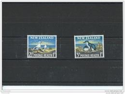 NOUVELLE ZELANDE 1964 - YT N° 421/422 NEUF SANS CHARNIERE ** (MNH) GOMME D'ORIGINE LUXE - Ongebruikt