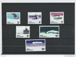 ROSS 1972 - YT N° 9/14 NEUF SANS CHARNIERE ** (MNH) GOMME D'ORIGINE LUXE - Dépendance De Ross (Nouvelle Zélande)