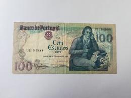 PORTOGALLO 100 ESCUDOS ORO 1981 - Portogallo